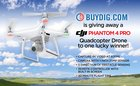 Buydig is giving away a DJI Phantom 4 Pro Quadcopter Drone! Ends 5/31 {US}