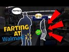 THE SHARTER Funny Wet Fart Prank At Walmart