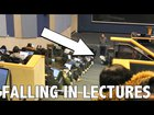 Dropping Papers in front of Lecture Halls Prank!