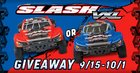 WIN A TRAXXAS SLASH RC TRUCK{US} ENDS 10/1