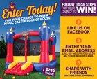 Win a Magic Castle Bounce House! $249 Value (05/31) {US}