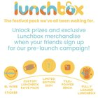 Lunchbox - the last festival bag you'll ever need. The Ultimate Rave hydration pack giveaway Limited edition $500 value {WW} (12/9/2018)