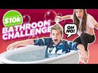 Last To Leave The Bathroom WINS $10,000 **Mr. Beast Challenge**   Piper ...