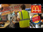 Kids Get Free Food from McDonalds going as Inspectors