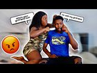 Calling My Wife '' MY GIRLFRIEND'' to see how she reacts | prank