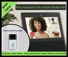 Win the NEW Amazon Echo Show, Ring Doorbell & Smart Home Control Kit! {US} (1/31/2019)