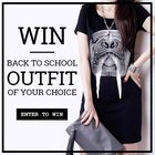 Win your choice of a back to school outfit from Charlotte Anne! Ends 09/23/2015