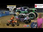 The 2017 Monster Jam Event in Fresno, CA at The Save Mart Center