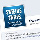 Sweeties 64,000 Facebook Fan Giveaway - win a Sweetie's secret site 1-year membership - 5 winners {US} (05/15/2017)