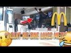 Pretending to Work at McDonalds (COPS CALLED)