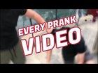 A satire of overdone YouTube prank videos
