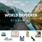 Win the World Explorer's Travel Goods Pack - valued at $200 (02/09/2018) {US UK CA}