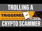 Pranking a bitcoin scammer