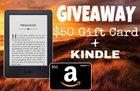 Win a Kindle & $50 Amazon Gift Card ($130)! {WW} (8/15)