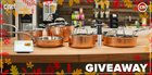 Win a 10-piece copper cookware set, a Precision Cooker and Google Smart Hub {US} (11/30/2018)