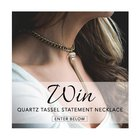 Win a quartz tassel necklace from Andrea Kelly Designs (07/08/2017) {???}