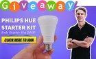 Enter to win a Philips Hue Smart Light Starter Kit (only 17 hrs. left) {??} (10/31/2018)