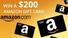 $200 Amazon Gift Card *(Thats RIGHT 200 DOLLARS!)* (12/31/2019) {WW}