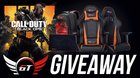 GT Omega Racing #BlackOps4 GIVEAWAY - Gaming Office Chair, Mouse Mat & Backpack! {??} (11/17/2018)