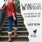 Win a Pair of Pixie Boots! (12/09/2015)