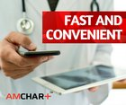 With AMCHART™, visits to your doctor will be faster and easier than ever! You will be able to share your medical records within a few seconds, instead of Learn more: www.amchart.io