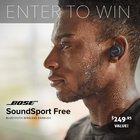Bose SoundSport Earbuds Giveaway - ARV $249 (02/05){US}