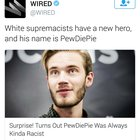 Folks, PewDiePie is under attack for simply speaking the truth and administering the Red Pill. Show this based human being some love.