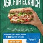 #EckrichFlavor #Sweepstakes $100 Walmart gift card (08/18/2017) {US}