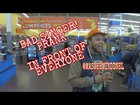 Bad singer prank in front of all WALMART shoppers