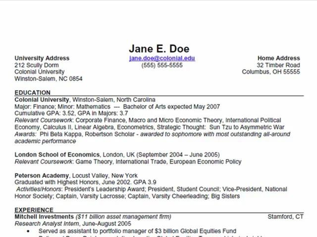 how to add coursework research paper in resume examples