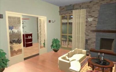 animated interior 3d animation artlantis