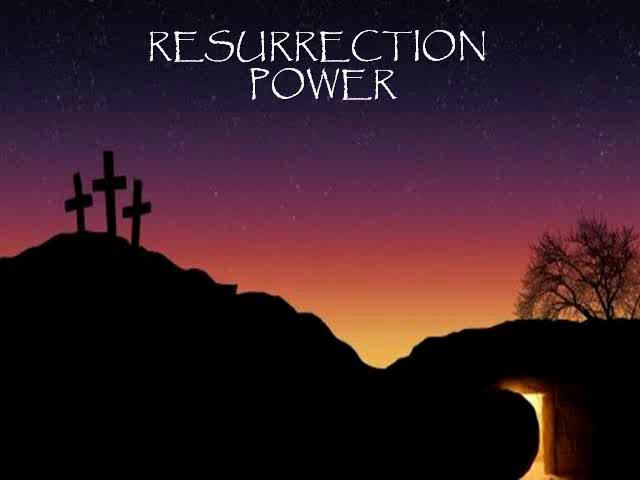 Image result for resurrection power