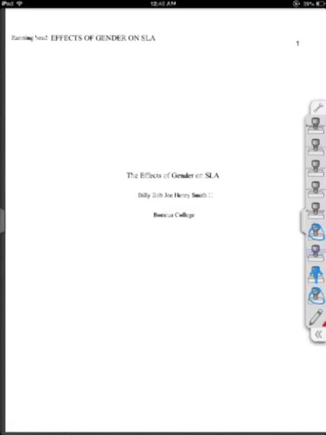 Essay Apa Style 6Th Edition