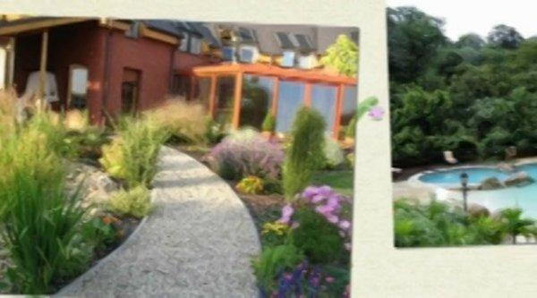 """""""backyard landscape ideas"""" & front"""