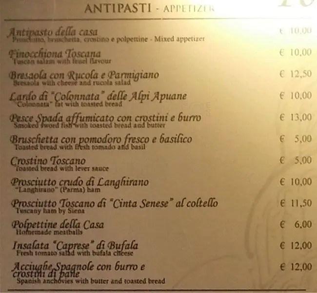 Torre di Pisa a Milano Foto del Menu con Prezzi  Zomato Italia