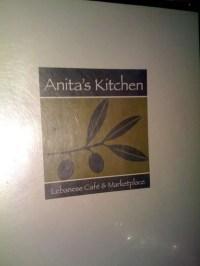 Anita's Kitchen a Detroit: Foto del Menu con Prezzi