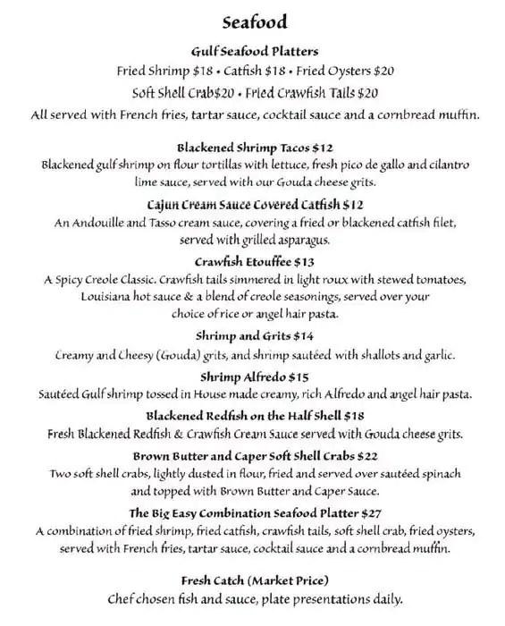 menu for patio 44 biloxi gulfport