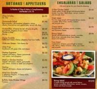 El Patio Mexican Restaurant Menu. El Tapatio Menu Menu For ...