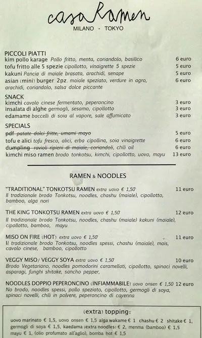 Casa Ramen Isola Milano  Zomato Italia