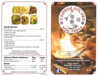 Chinese Kitchen menu, Menu restauracji Chinese Kitchen ...