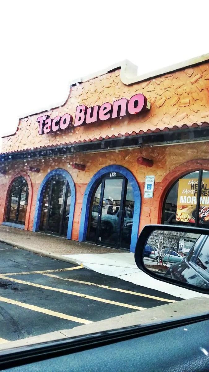 Taco Bueno Menu Menu for Taco Bueno Original Edmond