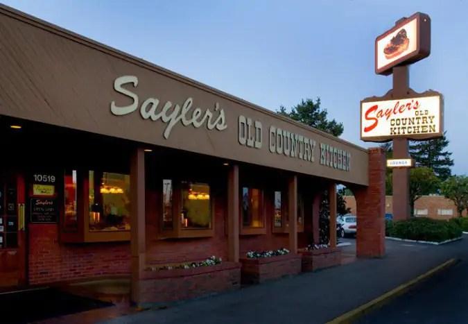 Sayler's Old Country Kitchen Menu  Urbanspoonzomato