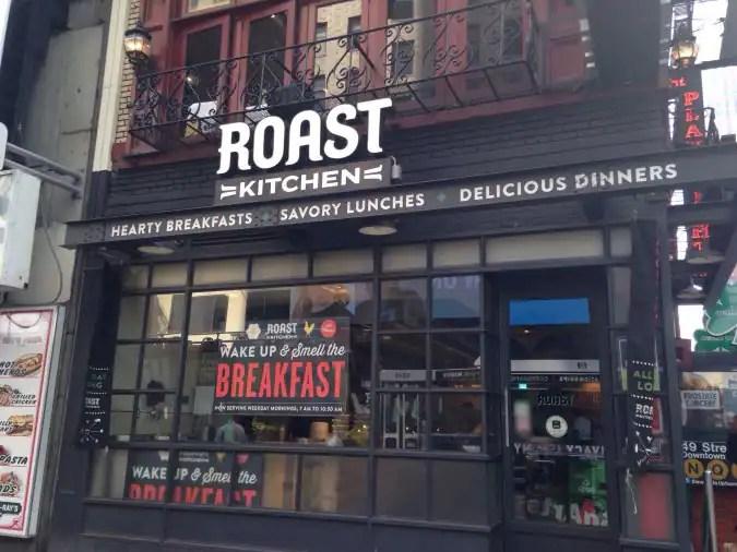Roast Kitchen Menu Theater District New York