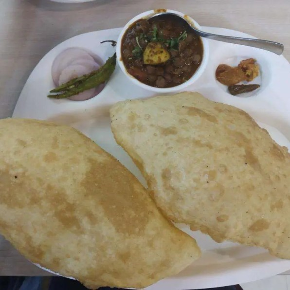 Image result for mishthanpur noida chole bhature