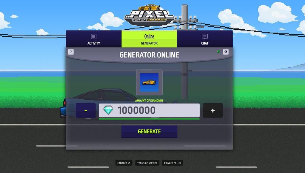 pixel car racer hack