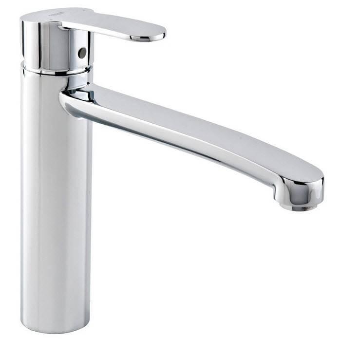 robinet evier chrome 140º eurostyle cosmopolitan grohe