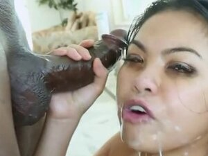 cum gagging drool