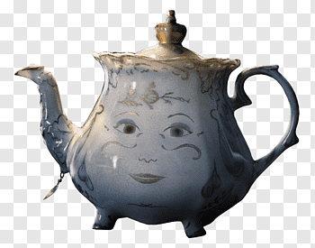 Disney Disney Beauty And The Beast Mrs Potts And Chip Illustration Png Pngbarn