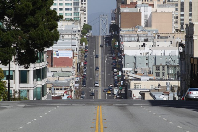 steep streets in San Francisco 2