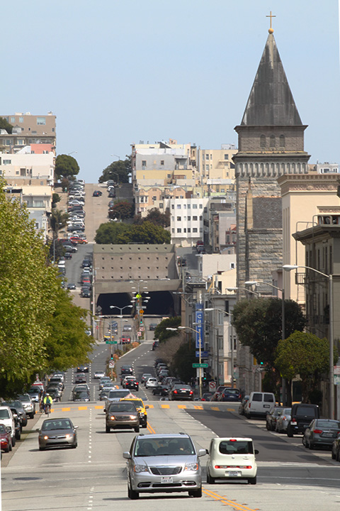 steep streets in San Francisco 4